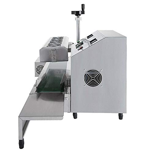 Sumeve Continuous Induction Sealer Automatic Induction Bottle Sealing Machine Bottle Cap Sealer For Cap Diameter 20mm - 80mm 110V 220V (110V) by Sumeve (Image #2)