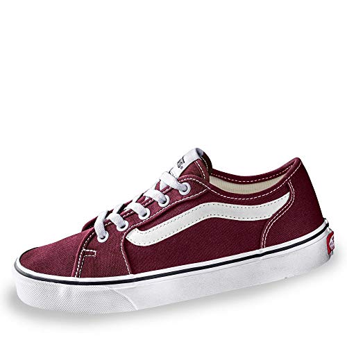 canvas true Mc0 Port Vans Rosso Sneaker Donna White Royale Decon Filmore xv6q48X