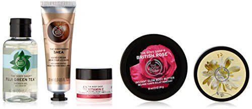 The Body Shop Best of Mini's Essential Collection Gift Set, 13.7568 Ounce