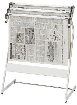 大人女性の 新聞架(3本タイプ) B0116NAPYK CR-SN351-W(スチールセイ) 新聞架 新聞架 B0116NAPYK, 白馬村:0721045a --- a0267596.xsph.ru