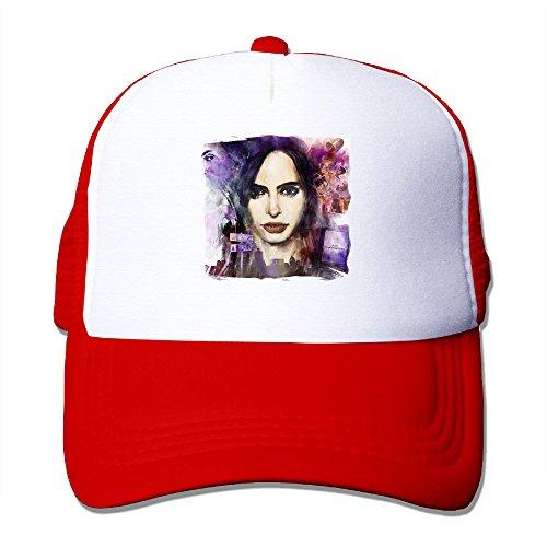 [ACMIRAN Jessica Jones Unisex Sunhats One Size Red] (Doctor Watson Costume)