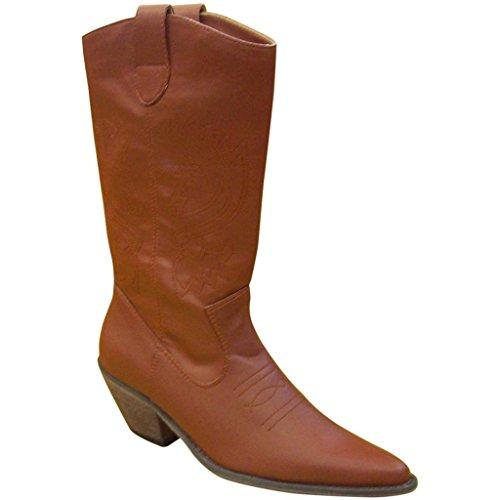 Stivale Da Cowgirl Con Inserti Carini B-13132 Per Donna
