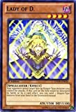 Yu-Gi-Oh! - Lady of D. (GAOV-EN036) - Galactic Overlord - 1st Edition - Common