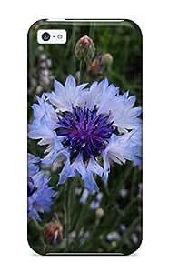 Iphone 5c Flower Print High Quality Tpu Gel Frame Case Cover