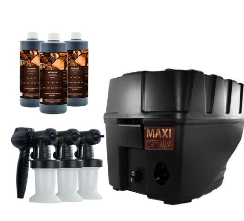 MaxiMist Pro TNT Spa Quiet Spray Tanning System Compare To Norvell Prestige 2100