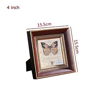 Amazon.com: Marco de fotos de cristal - Marcos de madera ...
