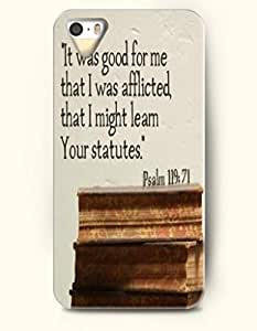 Zheng caseZheng caseiPhone 4/4s 4S Case OOFIT Phone Hard Case **NEW** Case with Design It Was Good For Me That I Was Afflicted That I Might Learn Your Statue Psalm 119:71- Bible Verses - Case for Apple iPhone 4/4s/4s