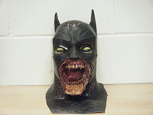 WRESTLING MASKS UK Halloween Batman Deluxe Limited Edition Latex Mask ()
