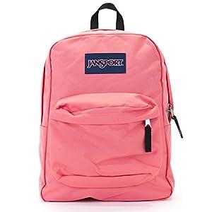Jansport Superbreak Backpack (coral sparkle)