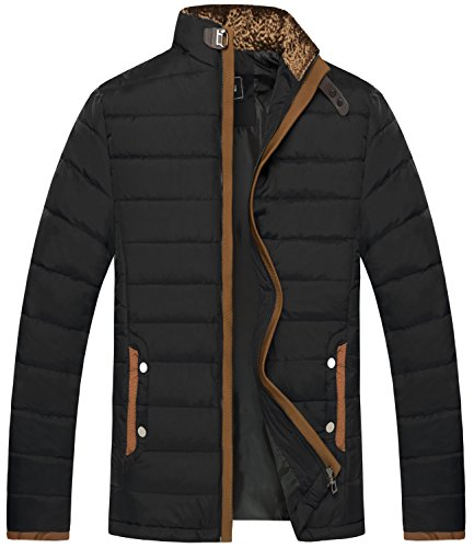 ZSHOW Men's Winter Thicken Cotton Quilted Jacket Cotton-padded Jacket Outwear