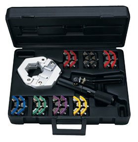 Fitting Hydra A/c Hose Krimp (MASTERCOOL 71500 Hydra-Krimp Black A/C Hose Crimper)