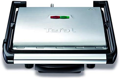 Tefal Gril Viande Panini Multifonction 2000W Rangement Vertical GC241D12