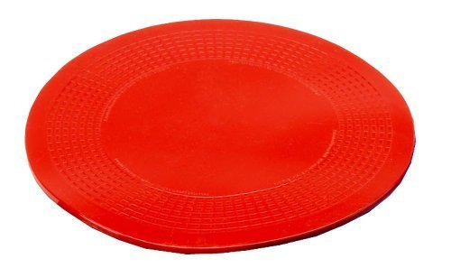 NRS Healthcare Dycem Non-Slip Circular Mat - 14 cm (5.5 inches) Diameter, Red by NRS Healthcare