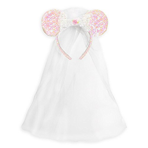 Galleon - Disney Minnie Mouse Ear Headband - Bride 23099992c47