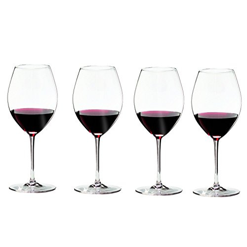 Riedel Sommeliers Leaded Crystal Hermitage/Syrah Wine Glass, Set of 4 ()