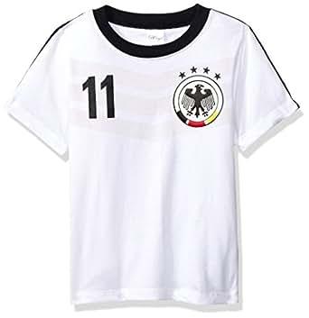 BC Collection Playera Alemania Jersey H3269B, Color Blanco, 2 Años