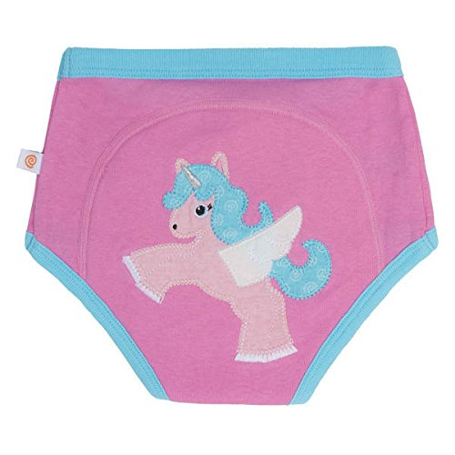 Zoocchini Training Pant 3T/4T-Allie The Alicorn-Single ZOO13505