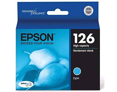 EPSON T126220-S High Capacity Cyan Ink Cartridge