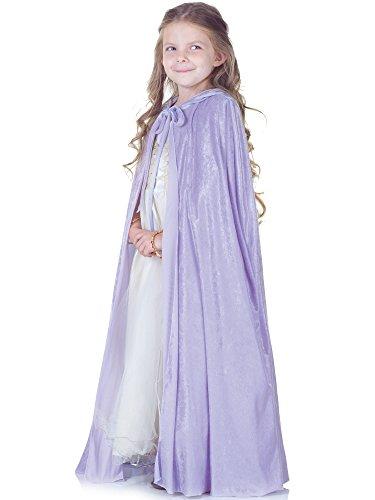 Girls Lavender Princess Costumes (Little Girls Princess Cape)