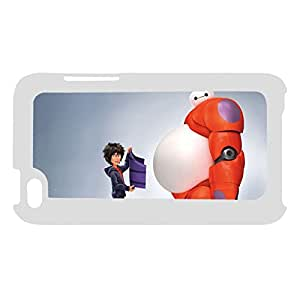 Custom Design With Big Hero Hard Plastic Back Phone Cover For Girls For Ipod Touch 4 Choose Design 1