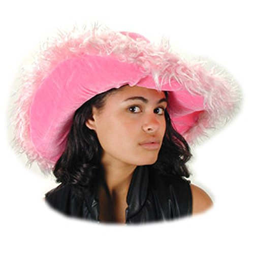 Pink Fur Sugar Daddy Costume Hat -