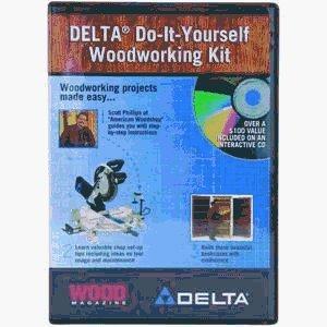 Delta Do-It-Yourself Woodworking CD-ROM Kit by Black Decker/ Delta