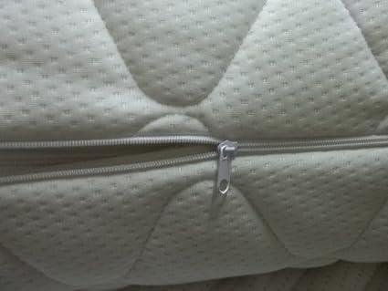 Protector de colch/ón Acolchado con Cremallera 180 x 200 x 4 cm. Diferentes Alturas Blanco Bazyl Funda de colch/ón 180 x 200 cm