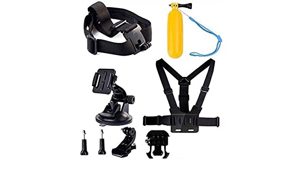 Compatible with The VanTop Moment 4 Action Camera Navitech 8-in-1 Action Camera Accessories Combo Kit