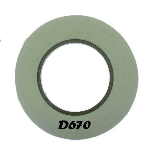 ship-from-usa-d670-double-sided-fillet-tape-for-hair-bow-clips-1-4-x-36-yards-perfect-for-lining-hai