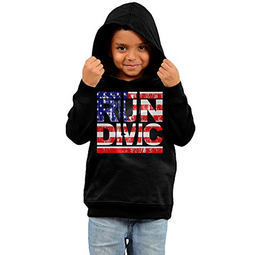 FGFD Toddler Run Dmc Unisex Sweatshirt Black Size 5-6 (Greatest Couples Costumes)