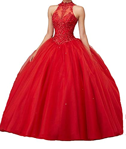 CharmingBridal Ball Gown Quinceanera Dresses Sweet 16 Prom Dresses for Teens