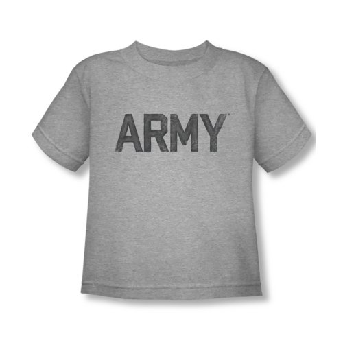 United States Army - Toddler T-Shirt Army logo, 4T, Grey