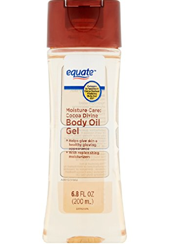 Equate Moisture Care Cocoa Divine Body Oil Gel, 6.8 fl oz