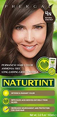 Naturtint Permanent Hair Color - 4N Natural Chestnut, 5.6 fl oz (6-pack)