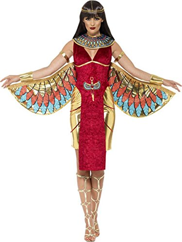Ladies Sexy Isis Egyptian Goddess Mythical Myth Fancy Dress Costume Outfit 8-16 (UK 8-10)]()