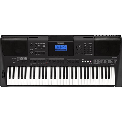 Yamaha Psre453 61 Key Touch Response Portable Keyboard With Powerful On Board Speakers In