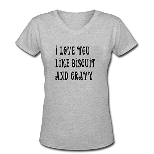 i-love-you-like-biscuit-and-gravy-womens-short-sleeve-cotton-v-neck-t-shirt