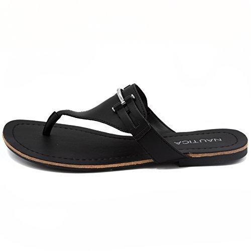 a6863edc4729 Galleon - Nautica Women s Westphal Thong Strap Sandal