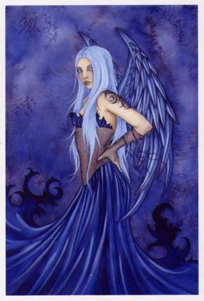 Dryad Halloween Costume (Blue Angel Amy Brown Limited Edition 11