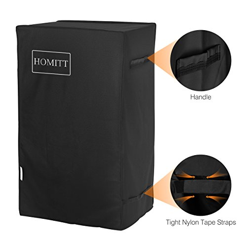 Homitt 30 Inch Smoker Cover Fits Masterbuilt Electric Smoker with Wind Against Nylon Tape Straps – Using Fade Resistant and Waterproof Durable Material for Indoor and Outdoor Use Review
