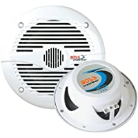 Boss Audio MR60W 6.5 Round Marine Speakers - (Pair) White