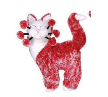 Amy Lacomb WhimsiClay Plush Strawberry Cat