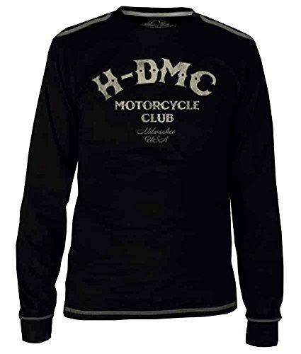 Harley-Davidson Men's Blk Label Tribute Long Sleeve T-Shirt - Blk 30291525 (Harley Davidson Usa)