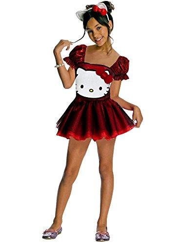 Hello Kitty Sequin Hello Kitty Dress Child Costume - -