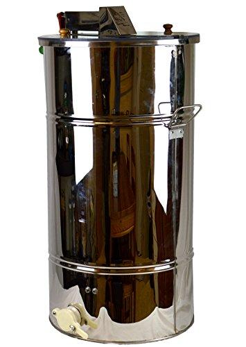 Honey Extractor-Stainless Steel 2 Frame Hand Crank Extrac...