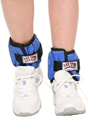 Amazon.com : Peso Pesas para los tobillos ajustables, par 10 libras (hasta 5 libras por el tobillo) : Sports & Outdoors