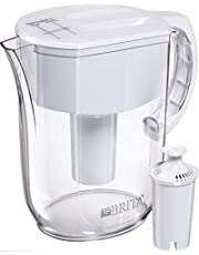 Brita Large 10 Cup Everyday Water Pitcher with Filter - BPA Free - White Large White