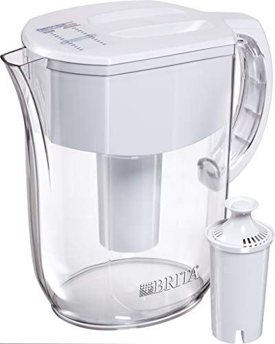Brita 36205 Everyday Pitchers, w 1 std Filter, White (Alkaline Brita Filter)