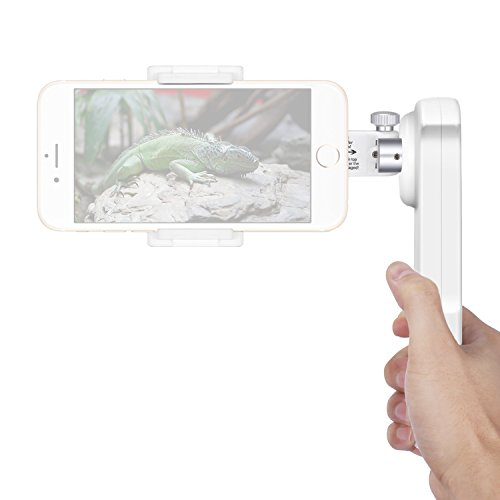 Neewer NW-2AG200 2-Axis Foldable Handheld Smartphone Gimbal Stabilizer for iPhone 7 Plus 7 6s 6s Plus Samsung S5 S6 Edge Plus YotaPhone Xiaomi Huawei Smartphone within 5.5 inches