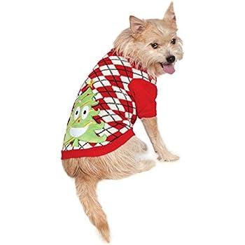 Rubie's Ugly Sweater with Xmas Tree, Medium
